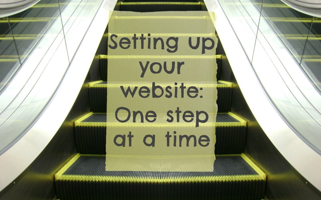 Steps to setting up a new site