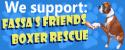 Wordpress Customization for Fassa's Friends Boxer Rescue 1