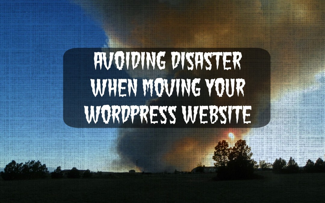 Moving Your WordPress Blog? Tips to Avoid Disaster!